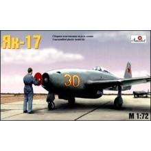 Yakovlev Yak-17 Soviet Jet Fighter