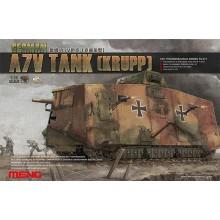 WWI German A7V Tank (Krupp) 1:35