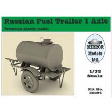 Russian Fuel Trailor 1 AXLE