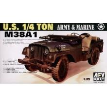 M38A1 1/4t 4x4 Truck