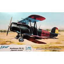 1/72 Koolhoven FK-51 'Spanish version'