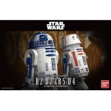 1/12 Star Wars R2-D2 & R5-D4