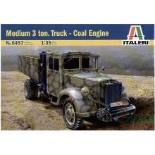 Medium 3 Ton. Truck - Coal Engine 1:35