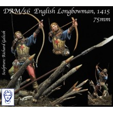 English Longbowman, Azincourt, 1415