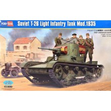 T-26 Light Infantry Tank Model 1935 1:35