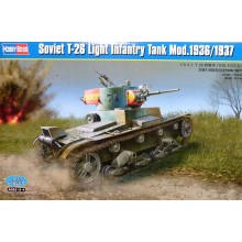 Soviet T-26 Light Infantry Tank 1:35