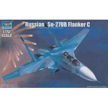 Russian Su-27 UB Flanker C