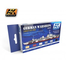 Colors for German Warships Acrylic Set