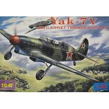 YAK-7V 'SOVIET TRAINER AIRCRAFT'