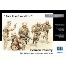 German Infantry DAK North Africa WWII