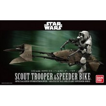 1:12 Star Wars Scout Trooper & Speeder Bike