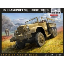 1:35 US Diamond T968 Cargo Open Cab