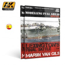 MODELLING FULL AHEAD SPECIAL 1/ LEXINGTON´S FINAL BATTLE