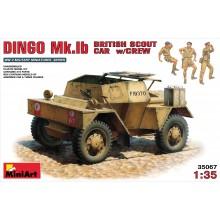 1:35 DINGO Mk.1b BRITISH SCOUT CAR W/CREW