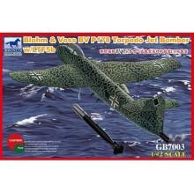 1:72 Blohm & Voss BV P178 Torpedo Jet