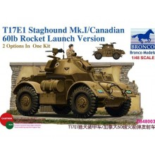1:35 T17E1 Staghound Mk. I (Late Production) w/ 60lb rocket