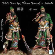 Guan Yu, Chinese General ca. 210 ac