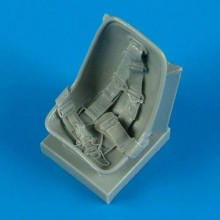 1:32 Bf 109E - Seat with safety belts