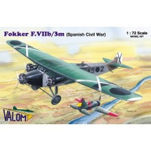 1:72 Fokker F.VIIb/3m