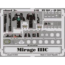 1:48 MIRAGE IIIC for EDUARD KIT