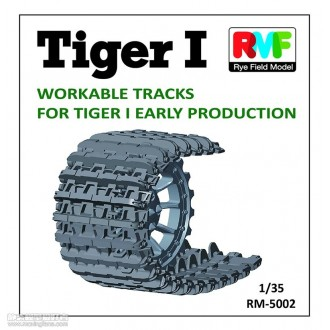 1:35 Workable Tracks for Tiger I Early Production