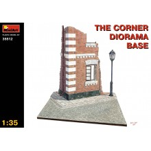 1:35 THE CORNER DIORAMA BASE