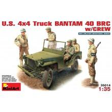 1:35 U.S. TRUCK BANTAM 40 BRC w/CREW