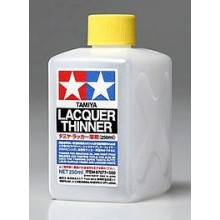 TAMIYA LACQUER THINNER 250 ml