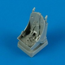 1:48 P-39 Airacobra seat with seatbelts