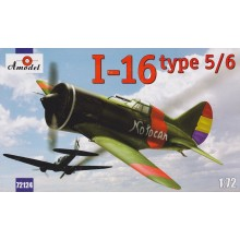 I-16 type 5/6 Soviet fighter 1:72