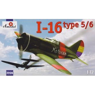 I-16 type 5/6 Soviet fighter 1:72