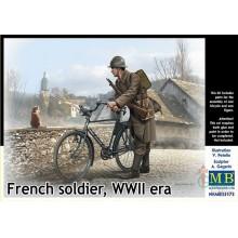 1:35 French soldier, WWII era