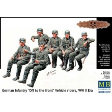 1:35 German infantry vehicle riders