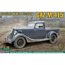 1:48 WWII Soviet pick-up GAZ-M-415