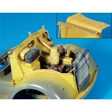 1:35 Engine Compartment Opel Blitz