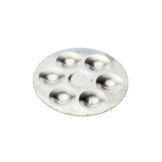 Paleta Circular Aluminio 6 Dep.
