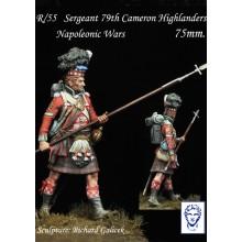 Sargeant 79th Cameron Highlanders