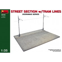 1:35 STREET SECTION w/TRAM LINES