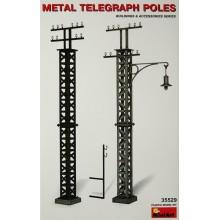 1:35 Metal Telegraph Poles