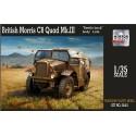 1:35 British Morris C8 Quad Mk III late