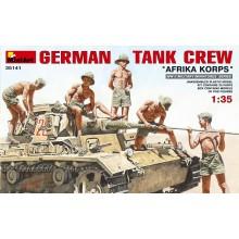 German Tank Crew 'Afrika Corps'