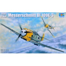 Trumpeter 1/32 02288 Messerschmitt Bf109E-3 Model Kit/Maquette