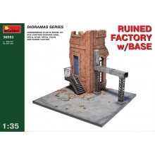 RUINED FACTORY w/BASE