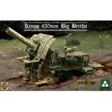 1:35 German Empire 420mm Big Bertha Siege Howitzer