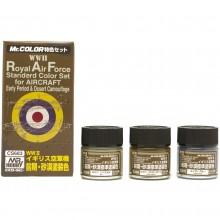 SET 3 COLORS RAF DESERT WWII