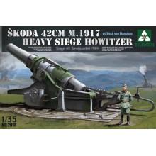 1:35 Skoda 42cm M.1917 Heavy Siege Howitzer with Erich von Manstein