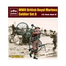 1:35 British Royal Marines Soldier Set A