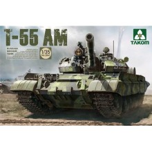 1:35 Russian Medium Tank T-55 AM