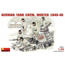 1:35 GERMAN TANK CREW. WINTER 1943-45