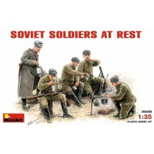SOVIET SOLDIERS AT REST